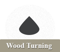 wood turning navigation button